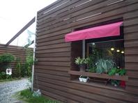 和室をカフェにリノベーションした家