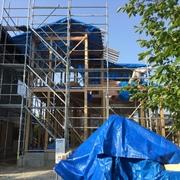 たたずまいのある城下町に建てる30坪の家...一人暮らしの母のために建てる家になります