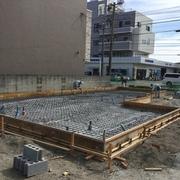 美健酵素防府店の新築工事が着工しました